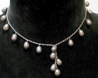 Cafe Society Collection:  Fresh Water Pearls