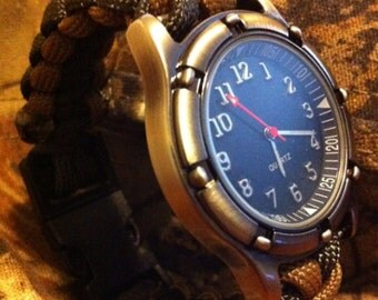 550 Paracord watch.