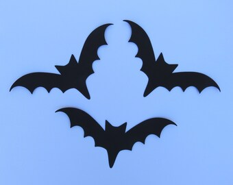 bat die cuts large bat die cuts paper bats bat decoration bat - Halloween Bat Decorations