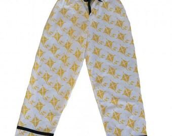 Yellow Kite Pajama Pants