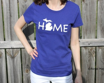 Michigan Home Shirt, T-shirt, Michigan Home Tshirt, Michigan mitten