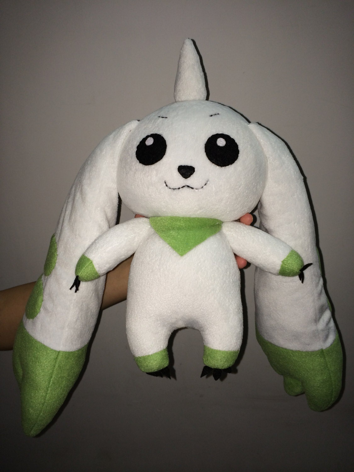 Terriermon Digimon Plush Toy Stuffed Doll Pillow By