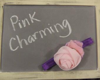 Pink Charming Girls Headband