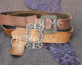 Jack Sparrow Anna maria OR Sunflower Pirate Belt with Buckle.