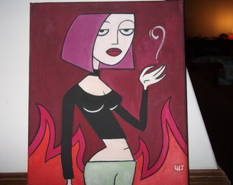 Fan art paintings - Clone High , Superjail - with every character you can think of!!!
