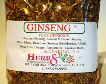 Four Ginseng Tea Herbal Blend