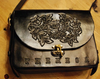 Custom leather handbag or purse