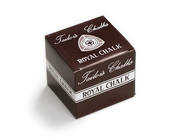 Royal Tailor's Chalk, White, 10 Chalks Per Box