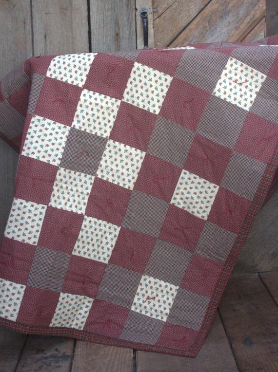 Civil War Soldier S Cot Size Quilt Blanket