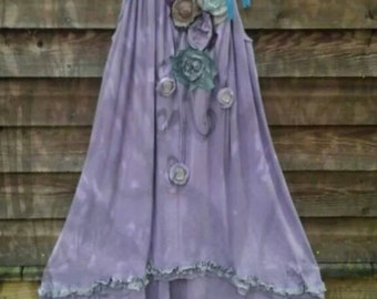 STORM Regular to Plus Size High Lo Grungy Tunic Made to Order