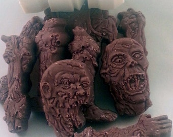 Chocolate Zombie Parts