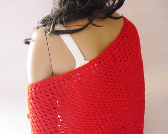 Little Red Shawl