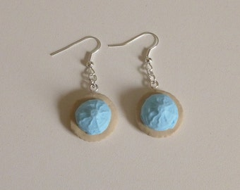 Iced Gem biscuit sweety earrings