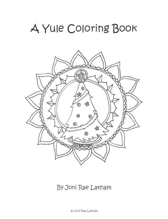 pagan yule coloring pages - photo #39