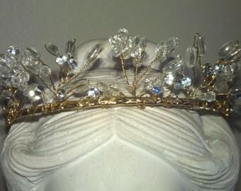 Vintage Beaded Tiara
