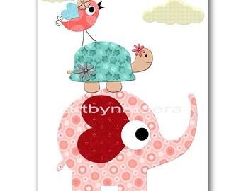 Nursery Download Baby Girl Nursery Art Digital Wall Art Baby Room Decor Children room Digital Print Download 8x10 11X14 INSTANT DOWNLOAD