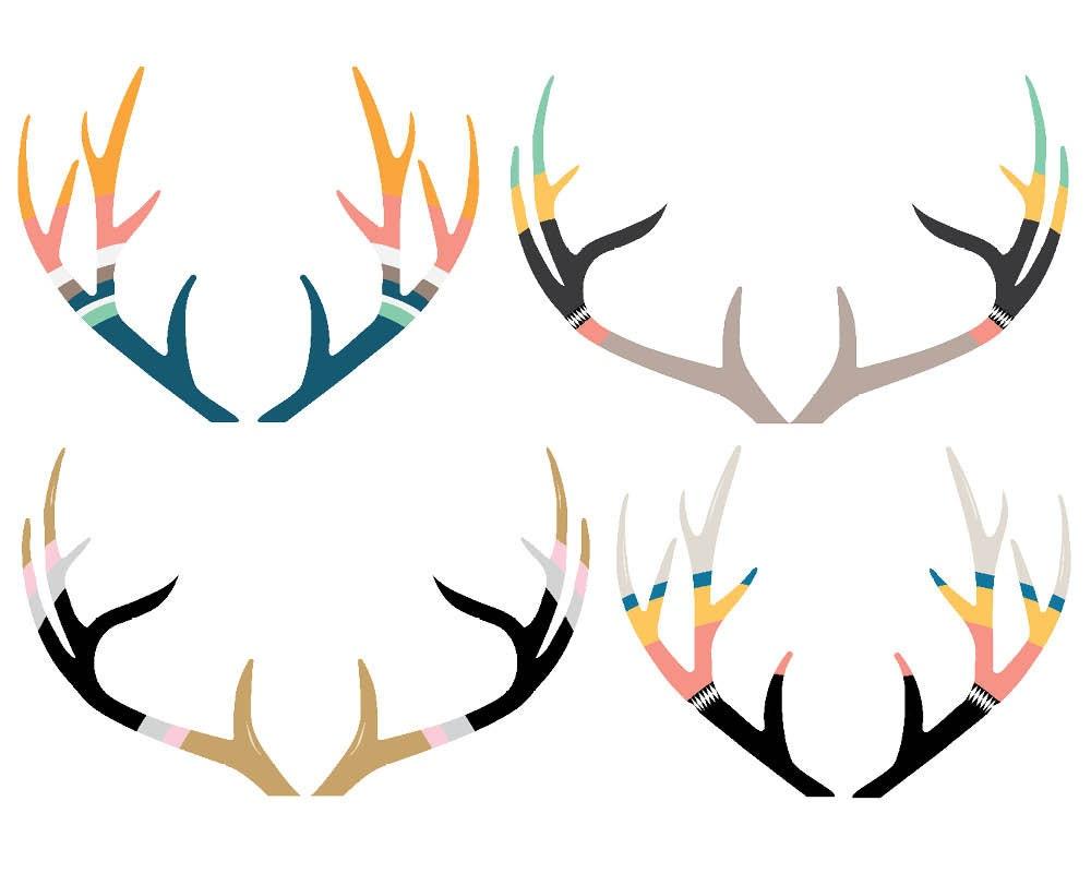 Deer antlers clipart - photo#25