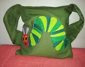 Handmade Hungry Caterpillar Tote Bag