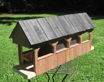 Covered Bridge Birdhouse