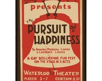 Vintage Replica Art. Theatre Poster