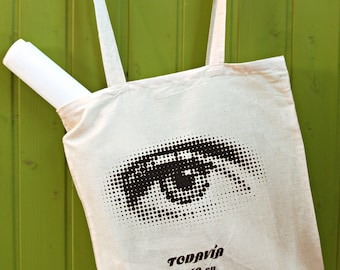 Fabric bag. I still believe in eye