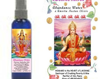LAKSHMI ABUNDANCE Water by Gypsy Goddess