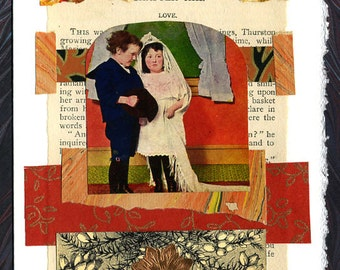 Wedding Collage Card Love Anniversary