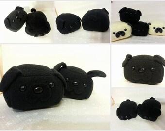 Mini Black Pug Loaf