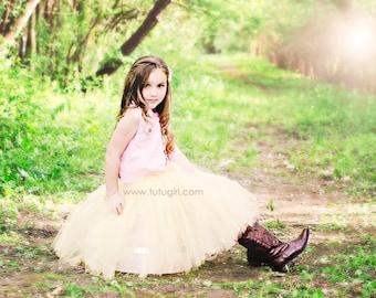 Melon Tutu, Flower Girl, Birthday, Weddings, Melon Tutus for Girls