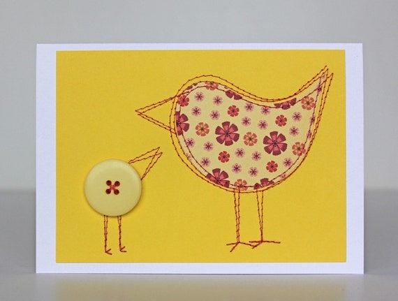 https://www.etsy.com/listing/166462903/mother-bird-card-bright-yellow