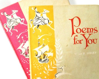 Poems for You, Book 1 & 2 1963 First Edition