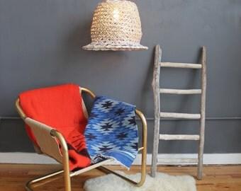 Hanging Wicker Basket Pendant Light
