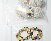 Pre-Strung Bead Kit for Indian Feather Patterns