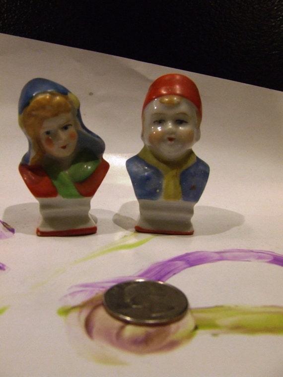 1940 39 S Salt Pepper Shakers Little Dutch Boy And Girl
