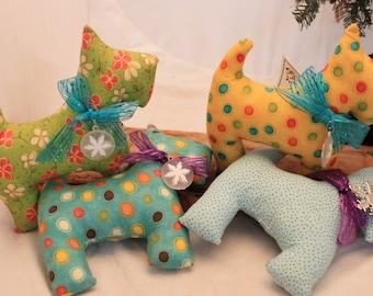 Dog, Scottie, Stuffed Scottie Dog, Toy Dog