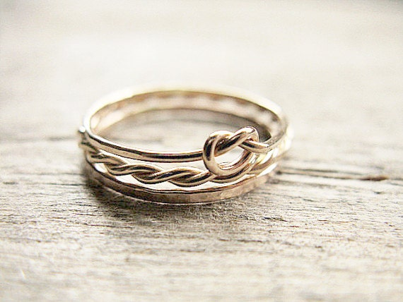 Stacking Rings 14k Gold Fill