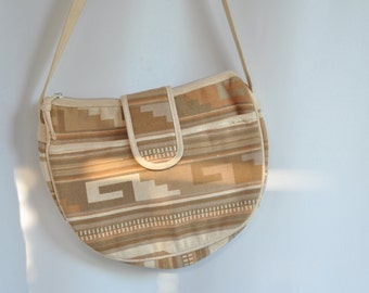 Vintage 1980's Purse Navajo Crossbody vintage purse bohemian slouchy style