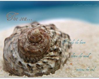 The Sea - 8x10 Fine Art Photo Print Poster