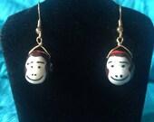 Fezzes (worn by monkeys) are Cool Earrings