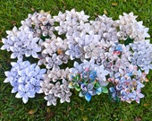 100 Paper Flowers for You - Special Order, You Choose Colors, Books, etc!
