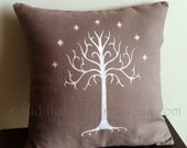 "CHOICE OF COLOUR Tree of Gondor Large Pillow Cover 18""x18"""