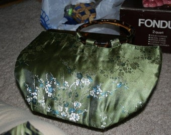 Green Silk Purse