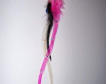 Feather Extension, Clip On Feather Extension, Clip in Feather Extension, Clip, Feathers, Feather Extension, Pink Feathers, Hair Extensions