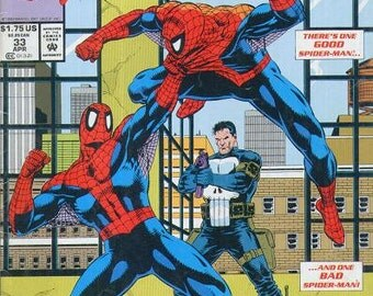 1993 SPIDER-MAN Comic Book Issue 33