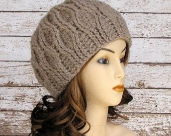 Woman's Alpaca Winter Hat