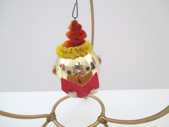 Final clearance sale vintage christmas ornament santa elf for Christmas ornament sale clearance