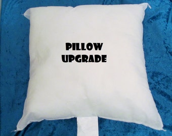 Pillow Upgrade Listing - Pillow Form to Go With Pillowcase