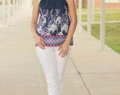 Empire Dress, Sundress, Jumper or Top -Easy Teen Dress - SEW COOL  PDF Pattern xxs-2x  Plus Size