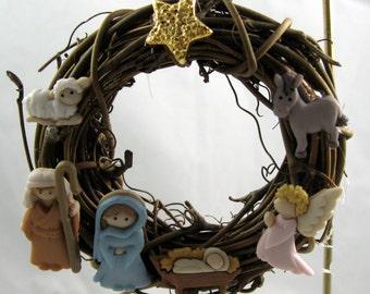 Nativity Christmas Ornament 202