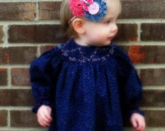 Baby Rattle Headband. Toddler Headband, Infant Headband